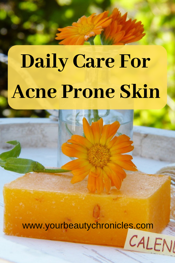 Daily Care for Acne Prone Skin
