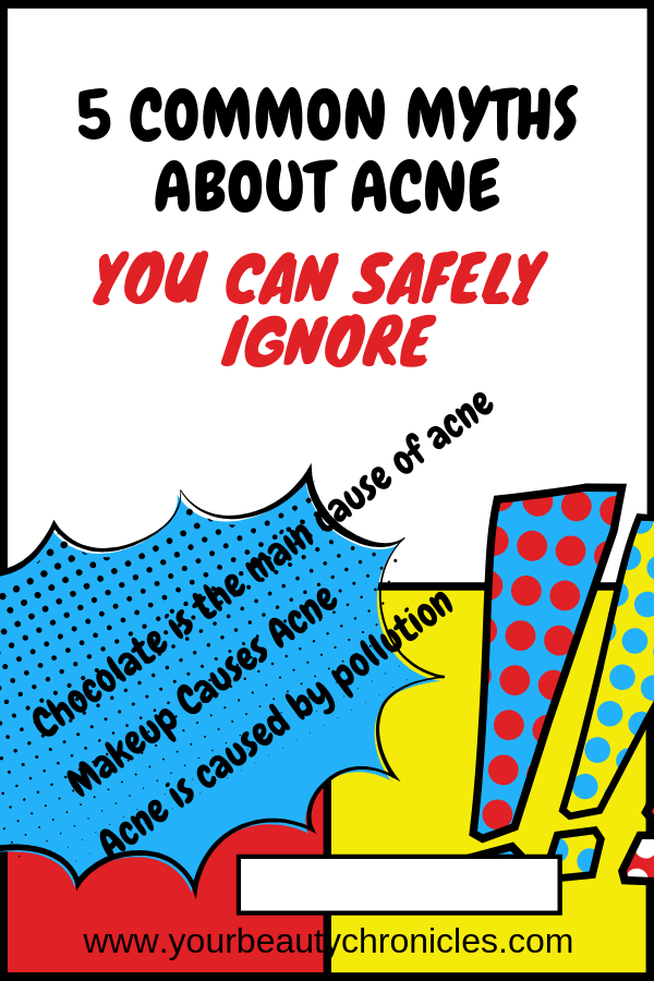 5 Common Myths about Acne – You Can Safely Ignore