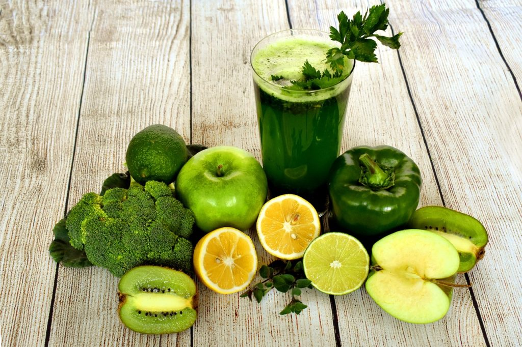 A Green Smoothie For Acne