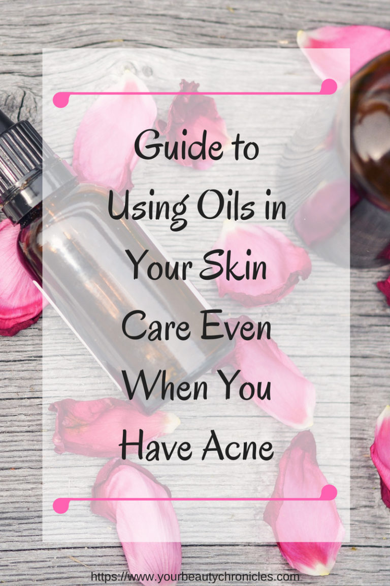 oils in skin care