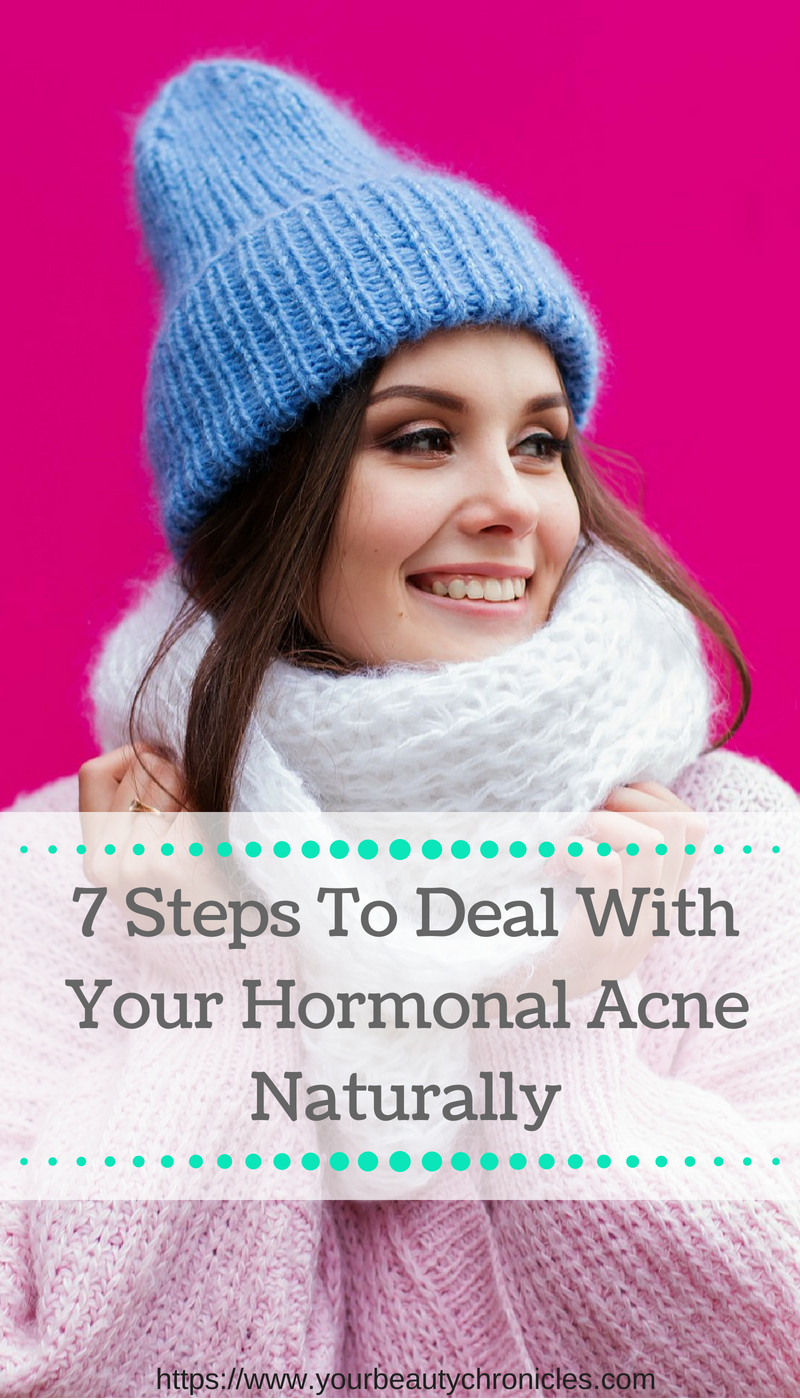 7 Steps to Deal With Hormonal Acne