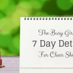 detox for clear skin