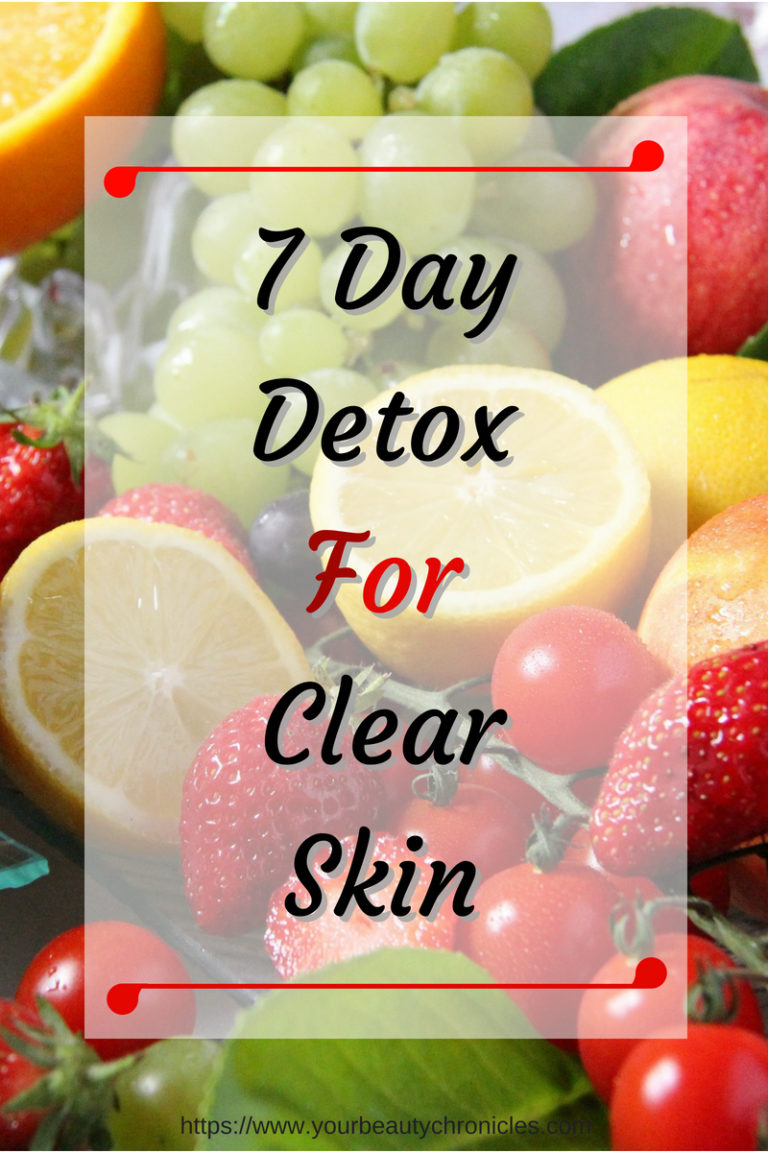detox for clear skin