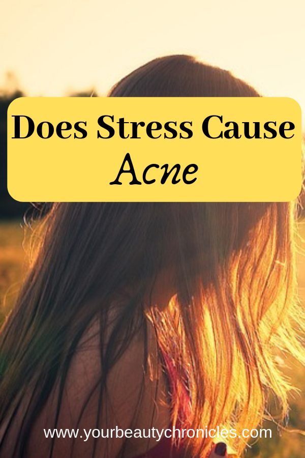 does stress cause acne
