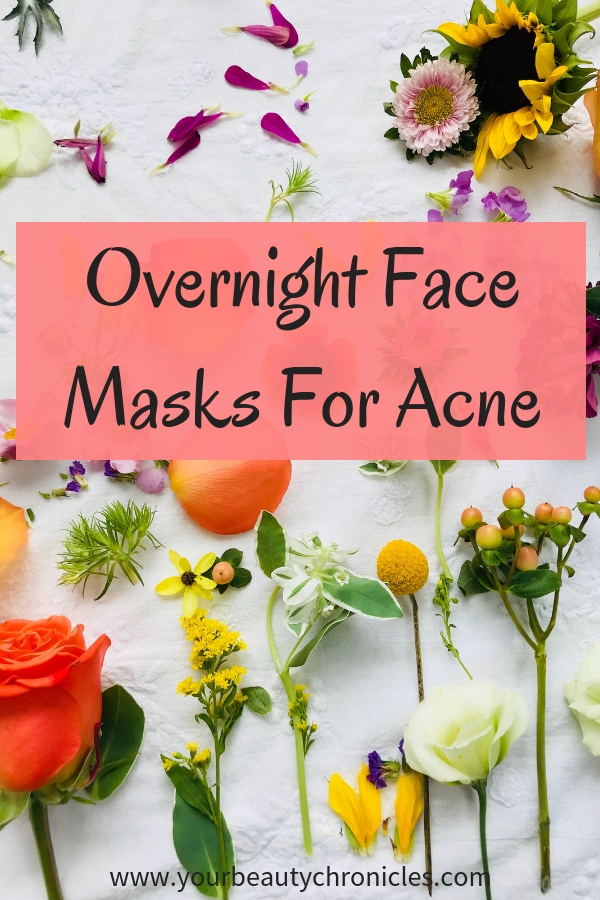 Overnight Face Masks For Acne